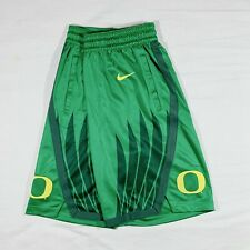 NIKE 100% AUTHENTIC OREGON DUCKS BASKETBALL GAME SHORTS SHOW TIME M NWT NCAA
