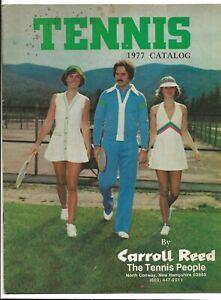 1977 Tennis Apparel Catalog-Carroll Reed-Sports Clothing-North Conway NH