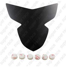 Headlight Lens Cover Shield Protector For Suzuki GSXR600 GSXR750 2004-2005 Black
