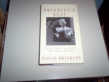 Brinkley's Beat-David Brinkley Hardback Book