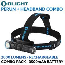 Olight PERUN H2r Style 2000lum Rechargeable LED Headlamp Cool WHITEHeadlight