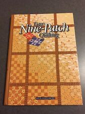 Easy Nine-Patch Quilting 1st Printing 1998 Color Hardcover