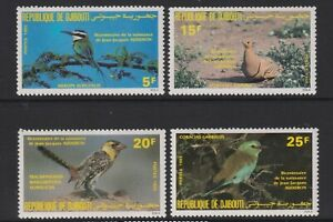 Djibouti - 1985, J Audubon, Birds set - MNH - SG 941/4