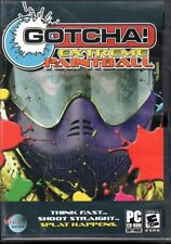 GOTCHA! Extreme Paintball (PC-CD, 2006) for Windows - NEW in DVD BOX