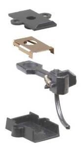 Kadee #5 HO Universal Metal Coupler and Insulated Draft Gear  (Pack of 2)