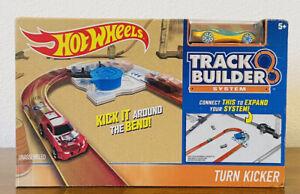 Hot Wheels Workshop Track Builder Turn Kicker Track Extension System RARE SEALED