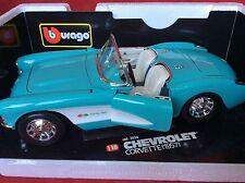 Chevrolet Corvette (1957) Burago 1:18