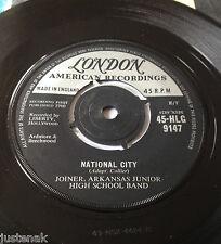 "JOINER ARKANSAS JUNIOR HIGH SCHOOL BAND National City 1960 UK LONDON EX VINYL 7"""