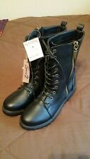 Seven Combat Boots Women's Size 10 New W/Tags!