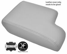 SILVER GREY LEATHER ARMREST COVER FITS BMW 3 SERIES E36  1992-1999