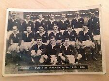 Ardath Photocard - Scottish Rugby Team (No. 163)