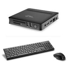 Mini-PC CSL Narrow Box Ultra HD Compact Windows 10 HTPC Intel 4 GB