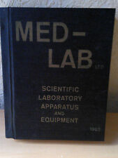 MED-LAB LTD, Scientific Laboratory Apparatus And Equipment, UK 1963 (Hardcover)