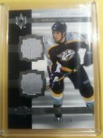 2006 07 Shea Weber Ultimate Threads Rookie /150 Dual Jersey Nashville Montreal