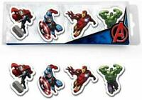Licensed Marvel Heroes Avengers Stationery 12 x ERASERs Rubber Party Bags
