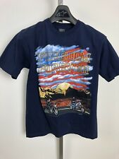 Freedom Forever Motorcycle T-Shirt Mens Medium 2002 Eagle America Harley