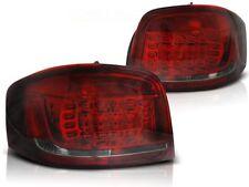 LED FAROS TRASEROS LDAUB7 AUDI A3 HATCHBACK 3D 2008 2009 2010 2011 2012 R-S