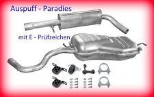 Abgasanlage, Auspuff, Endtopf VW New Beetle 2.0 Fließheck (Typ 9C1, 1C1) + Kit