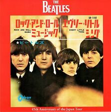 "THE BEATLES - Rock & Roll Music - 7"" 45RPM - JAPAN - ""Red Wax"" - Limited Edition"