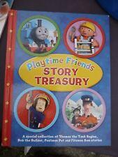 Playtime Friends Story Treasury - Bob The Builder, Fireman Sam, Postman Pat,
