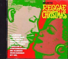 SELEKTA REGGAE CHRISTMAS: ISLAND HOLIDAY MUSIC (1990, CD) JAPANESE PRESS! RARE!
