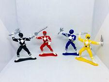 "1993-1995 Bandai Mighty Morphin Power Rangers Lot PVC 3"" Mini Figures"