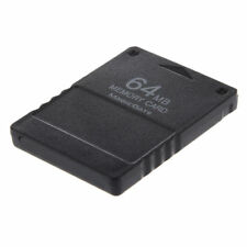 10x(black 64mb Save Memory Card Stick for Sony Ps2 PlayStation 2 PS Et