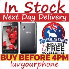 LG Optimus L5 II E450F 4GB Black 3G Smartphone Locked to Telstra AU Model