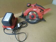 Hilti SCW 18-A cordless circular saw with 18v battery and charger
