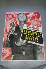 Affiche de cinéma : LA DERNIERE BAGARRE de RALPH NELSON - Steve McQUEEN