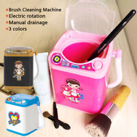Mini Electric Washing Machine Dollhouse Toy TiTok Ins Useful Wash Makeup Brushes