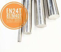 EN24T 817M40T Steel Cut Bar 300mm Lengths High Tensile Metric