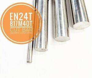 EN24T 817M40T Steel Cut Bar Lengths High Tensile Metric
