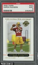 2005 Topps #431 Aaron Rodgers Packers RC Rookie PSA 9 MINT