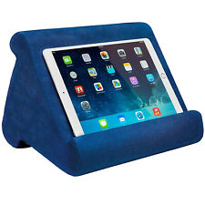 Multi-Angle Soft Stand Pillow Tablet Phone Holder For IPad Tablet Phone Blue US