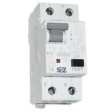 SEZ RCBO FI/LS B25A 30mA 10kA 2p VDE Leitungsschutzschalter Fi-Schalter 0417