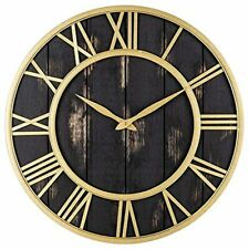 RELOJ DE PARED (Black Gold, 18-inch)