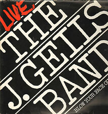 THE J. GEILS BAND - Blow Your Face Out, Live    2LP   VG++