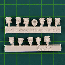 Female Dress Cap Heads x11 Galaxy's Finest Victoria Miniatures