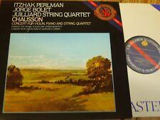 D 37814 Chausson Concert / Perlman / Bolet / Juilliard Quartet