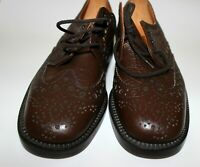 New Loake Loakes Brown Brogues All Leather Made in England Size UK 6.5