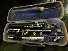 German Gebruder Monnig - silver / ebony flute