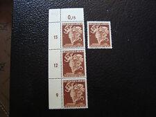 GERMANIA - francobollo - yvert e tellier n° 692 x4 n (A5) stamp germany (A)