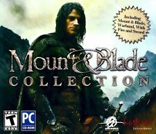 Mount & Blade Collection with Warband With Fire and Sword Windows Xp Vista 7 8