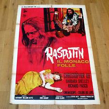 RASPUTIN manifesto poster affiche Christopher Lee Barbara Shelley the Mad Monk