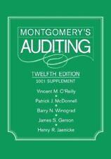Montgomery's Auditing, 2001 Supplement