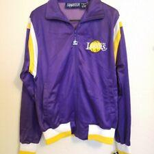 Vintage LA Los Angeles Lakers Kobe Starter Warm Up Jacket Size Medium