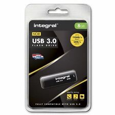 Rápido-Superspeed 8 Gb Usb 3.0 Flash Drive de Integral-hasta 80 MB/s.