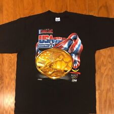 Mint Vintage Salem Sportswear 1992 Olympic Dream Team Gold Medal T-Shirt  sz XL