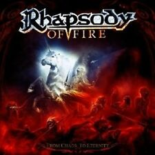 "RHAPSODY OF FIRE ""FROM CHAOS TO..."" CD NEU"